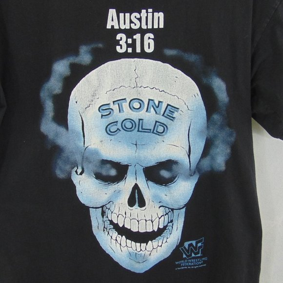world wrestling federation shirt Vintage stone cold steve austin 3:16